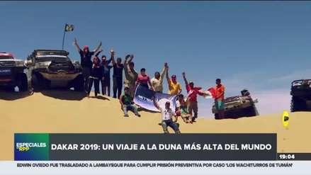 Dakar 2019: Un viaje a la segunda duna más alta del mundo con Fernanda Kanno