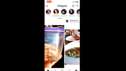Instagram cambió su interfaz de vertical a horizontal durante unos minutos y generó críticas a nivel global