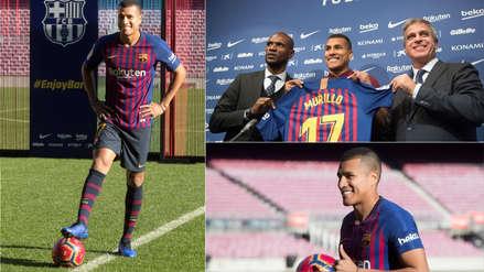 Barcelona presentó a Jeison Murillo: mira sus mejores fotos en el Camp Nou