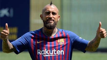Arturo Vidal reveló el secreto de su titularidad en Barcelona