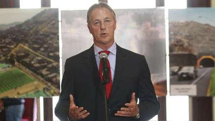 Jorge Muñoz anuncia medidas para reducir el tráfico por obras en la Panamericana Sur durante el verano