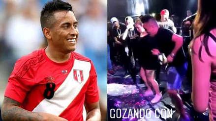 Christian Cueva sorprende bailando salsa en Trujillo (VIDEO)