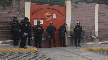 Arequipa: Detienen a gerente regional de Transportes y trabajadores por cobro de coimas