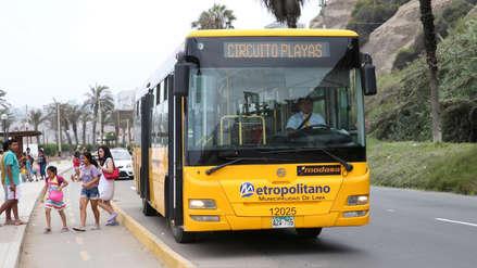 Metropolitano: Este sábado inicia el recorrido del servicio a playas de la Costa Verde