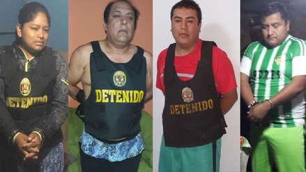 Capturan a 17 presuntos integrantes de 'Los Intocables de Chimbote'