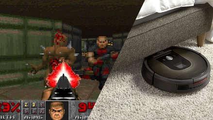 Usuario crea niveles de Doom usando una aspiradora electrónica