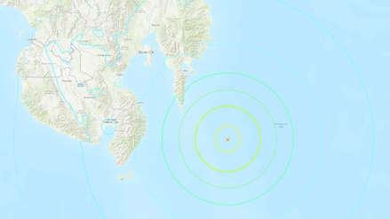 Sismo de magnitud 6,9 sacudió el sur de Filipinas