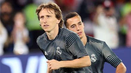 """Real Madrid: Luka Modric """"rechazó"""" primera oferta de renovación"""