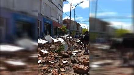 Una mujer y su hija de 3 años mueren tras derrumbarse un balcón sobre ellas en Argentina