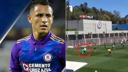 La gran jugada de Yoshimar Yotún con Cruz Azul que casi termina en golazo | VIDEO