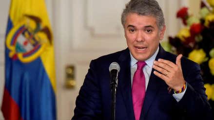 Colombia refuerza seguridad de Iván Duque tras descubrir supuesto plan de atentado