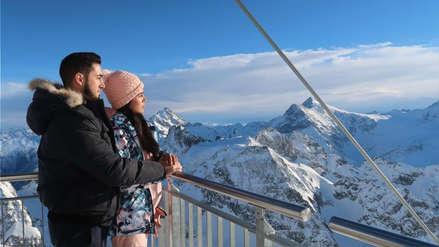 Vania Bludau y su prometido viven romántico viaje por Finlandia, Suiza y Francia [FOTOS]