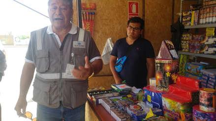Año Nuevo | Feria de pirotécnicos puede vender solo hasta 25 kilos de productos por persona