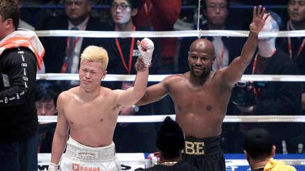 Floyd Mayweather vs. Tenshin Nasukawa: baile y llanto tras la pelea de exhibición en Japón