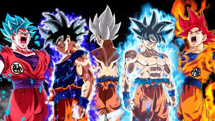 Dragon Ball Super: Estas son todas las transformaciones de Gokú en la historia