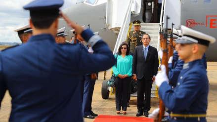 Presidente Martín Vizcarra llegó a Brasil para toma de mando de Jair Bolsonaro