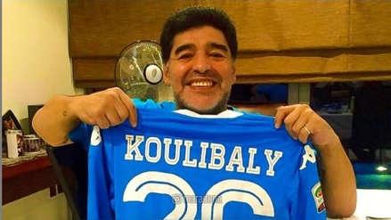 Diego Maradona, solidario con el senegalés Koulibaly, víctima de ataques racistas