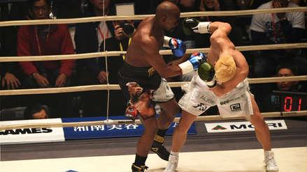 ¡En un round! Floyd Mayweather ganó por nocaut a Tenshin Nasukawa en pelea de exhibición en Japón | VIDEO
