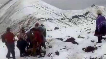 Cusco | Dos turistas mexicanos resultaron heridos por el impacto de un rayo