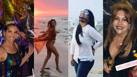 Año Nuevo 2019: Así lo recibieron los famosos peruanos [FOTOS]