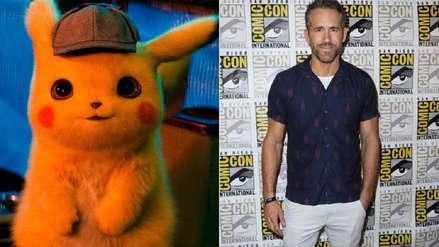 Ryan Reynolds comparte foto donde muestra cómo se convirtió en Pikachu para nueva película