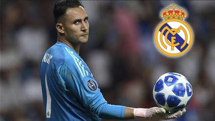 Keylor Navas publicó foto que da entender su salida de Real Madrid