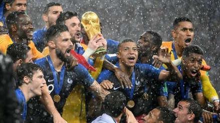 La Francia campeona del mundo recibe la Legión de Honor