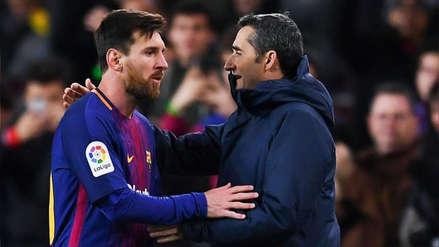 Ernesto Valverde no descartó su salida de Barcelona