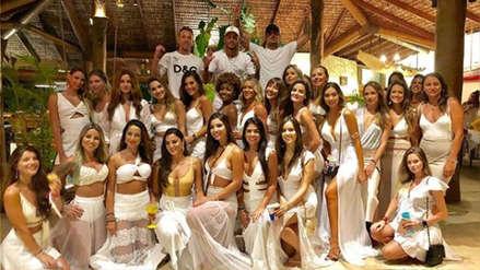 Neymar: así fue la exclusiva fiesta de Año Nuevo en Brasil
