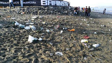 Año Nuevo 2019 | Playa de Huanchaco queda sucia tras celebración