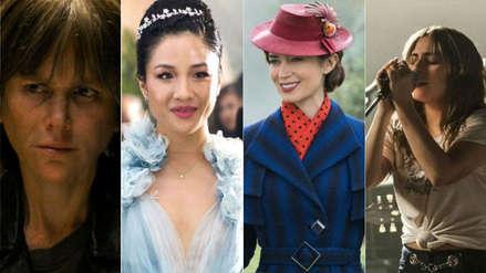 Globos de Oro 2019: Lady Gaga, Nicole Kidman y las demás nominadas a Mejor Actriz de Cine