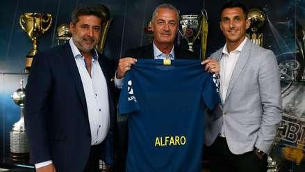 Gustavo Alfaro tras ser presentado como DT xeneize: