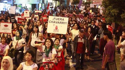 Así se desarrolló la marcha de miles de peruanos exigiendo la renuncia de Pedro Chávarry