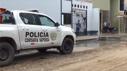 Tarapoto: Hombre asesinó a su hijo, hirió de bala a su esposa y luego se suicidó