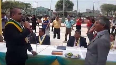 Alcalde de distrito de Casa Grande hizo jurar a regidor