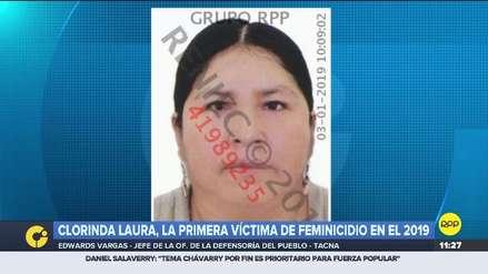 Clorinda Laura, la primera víctima de feminicidio en el Perú del 2019
