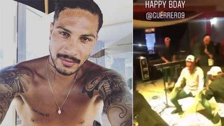 Paolo Guerrero sorprendió con pasos de baile en cumpleaños 35
