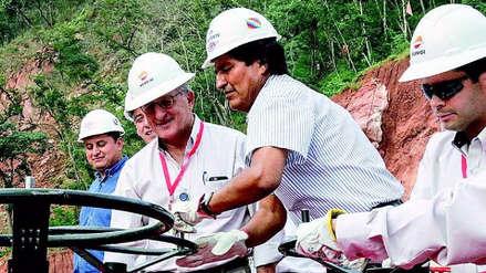 Evo Morales anuncia que Bolivia prepara la venta de gas para varias ciudades del Perú