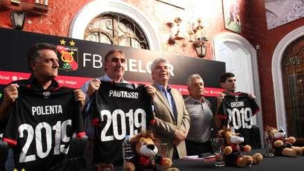 Jorge Pautasso fue presentado como nuevo entrenador de FBC Melgar [FOTOS]