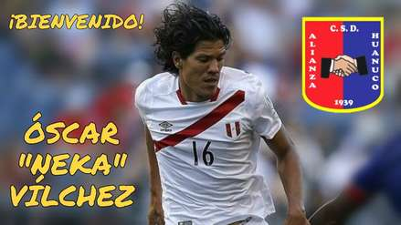 Óscar Vílchez fue presentado como nuevo jugador de Alianza Universidad