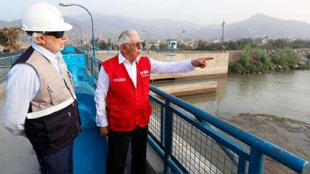 Ministro de Vivienda garantiza abastecimiento de agua en Lima y Callao durante el verano