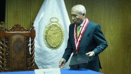 Fiscal supremo Tomás Galvez sobre Chávarry: