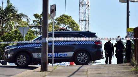 Un muerto y dos heridos en un ataque con cuchillo en Sídney