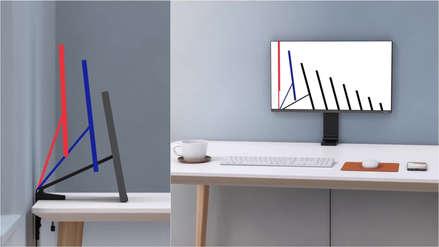 Samsung presenta un monitor que se adapta a tu escritorio