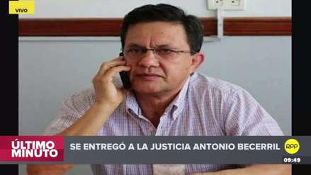 Hermano de Héctor Becerril se entregó a las autoridades en Chiclayo