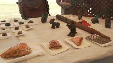 Encuentran objetos y ofrenda Wari en parque arqueológico de Pikillaqta