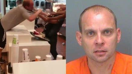 Hombre atacó a una empleada de McDonald's porque no había sorbetes en el mostrador