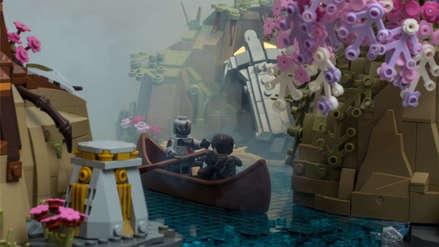 Un fanático recreó escenas de God of War con piezas de LEGO