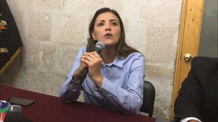 Arequipa: Yamila Osorio declaró en la Fiscalía por caso de corrupción en la Gerencia Regional Transportes