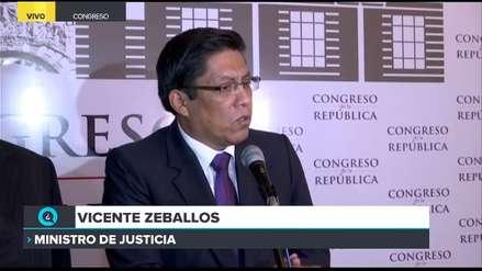 Zeballos niega inconstitucionalidad: